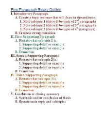 outline of essay example sample paragraph com  outline of essay example 7 writing a