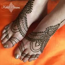 Feet Design 10 Stylish Bridal Mehndi Designs For Feet Mehndi Artistica