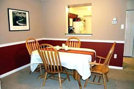 natural chair rail molding ideas dining room chair rail dining room paint ideas with chair rail