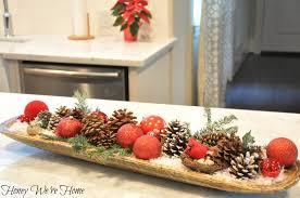 Dough Bowl Decorating Ideas Christmas Dough Bowl Honey We're Home 47