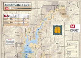 Mozingo Lake Depth Chart Smithville Lake Missouri Maps Usace Digital Library
