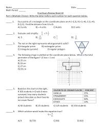 Final Exam Review Sheet 2 2015