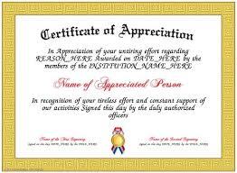 Appreciation Certificates Wording Magnificent Certificate Of Appreciation Wording For Employees