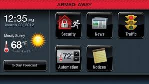 home automation alarm. honeywell lynx touch 5100 wireless alarm gsmvlp54g and zwave home automation starter kit