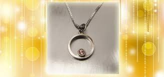 40 for sterling silver circle pendant with oregon sunstone and box chain 80 value