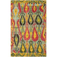 interesting ikat rug for your floor design safavieh ikat area rug for traditional floor