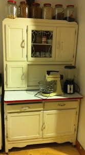 Hoosier Kitchen Cabinet Breathing Life Back Into Grandmas Hoosier Cabinet By Kevin And