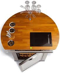 cool bar furniture. mobile wine bar u0026 refrigerator by kefren cool furniture s