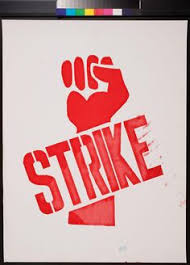 Image result for strike posters