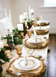round table woodland rustic farm table with a greenery runner photography and events enchanting woodland wedding round table