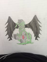 Upside Down Art Upside Down Cross With Leaves And Wings By Loveforjayy On Deviantart