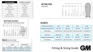 Gm Sizing Guides Cricket Official Online Store