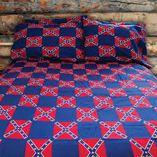 Rebel Flag Sheet Set | DL Grandeurs Confederate & Rebel Goods & Rebel Flag Bed Sheet Set. Adamdwight.com
