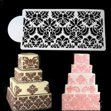 Cupcake Decorating Accessories New Arrival DIY Flower Cake Stencil Cupcake Decorating Template 98