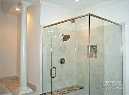 glass shower doors cost framed vs door semi s a looking for enclosures custom to install glass shower