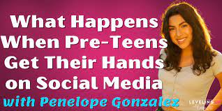 What Happen When Pre-Teens Get Their Hands on Social Media with Penelope  Gonzalez - Natalie Jill Fitness