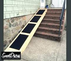 dog ramp for outdoor stairs home and furniture astounding on i really need to build a