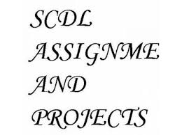 assignments clasf scdl assignments help regarding