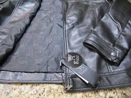 armani emporio collezione leather jackets