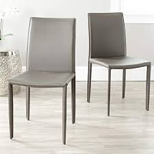 modern chair designs. Amazon Com Safavieh Home Collection Karna Modern Grey Dining Chair Throughout Chairs Designs 13