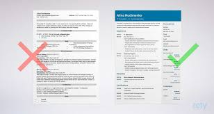 sample resume it resume sample complete writing guide 20 examples tips