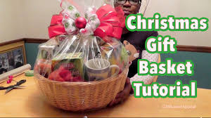 DIY Gift Basket Tutorial  Christmas Gift Basket How To Make Hampers For Christmas Gifts