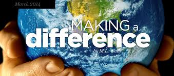 making a difference essay it s easy to make a buck it s a lot tougher to make a difference