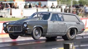 BIG BLOCK + Chevy Vega Wagon = Awesome Drag Racer!