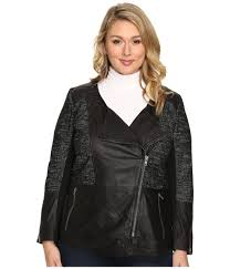 lucky brand plus size moto jacket soft and smooth leather forged into the shape of a