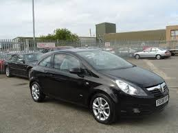 used vauxhall corsa 1 4i 16v sxi 3 door hatchback black 2008 petrol in