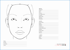 free templates for mac luxury makeup face chart printable mugeek vidalondon