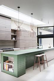 two kitchen trends that we re seeing on the horizon the return of the 1970s style tiled countertop an economical option that provides a durable grid work