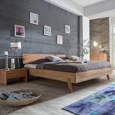 Schlafzimmer Holz Kaufen Bett Eidsberg 140x200 In Kernbuche Massiv
