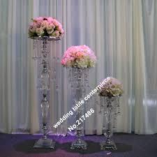 Us 3500 Nur Kronleuchter Kristall Tischleuchter Hochzeit Tischdekoration Withwout Die Blume Und Blumenvase Stand In Nur Kronleuchter Kristall
