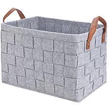 Decorative Fabric Storage Boxes Amazon Perber Storage BasketsHandmade Decorative Collapsible 92