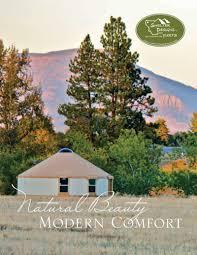 Shelter Designs Yurts Brochures