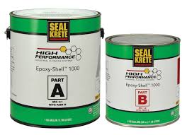 Epoxy Shell 100 Solids Self Leveling Epoxy Seal Krete