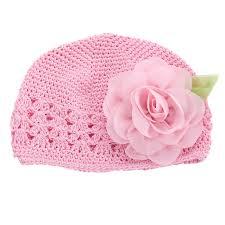 <b>2016 New</b> Flower Girls <b>Baby</b> Hat Crochet Handmade Photography ...