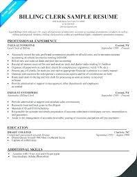 Medical Billing Resume Template Amazing Medical Coding Sample Re Nice Medical Billing Resume Sample Free