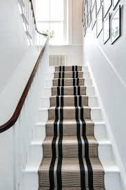 striped runner rug s red stair rugs black and cream
