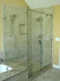 seamless shower enclosures glass custom doors cost frameless door