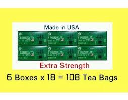 6 bo 3 ballerina tea ters drink weight loss t extra strength 108 bags ebay