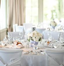 white table settings. All White Place Settings, Table Linens And Centerpieces Settings 1
