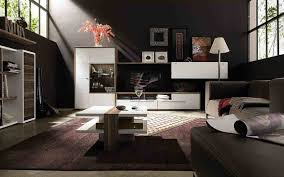 Modular Living Room Designs Living Room Dark Living Room With Modular Coffee Table And Black
