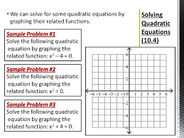 20 solving quadratic