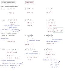 factoring quadratics worksheet factoring quadratic equations worksheet algebra 2 answers jennarocca