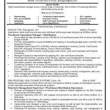 Logistics Manager Resume Examples Of Professional Resume