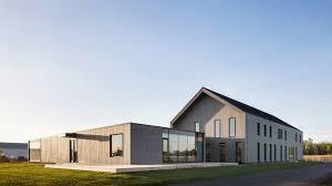 contemporary office building. Maurice Martel Disguises Office Building As Contemporary Barn In Rural Canada