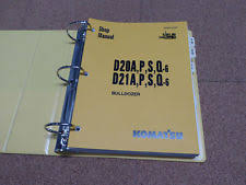 komatsu manual komatsu d20 a p s q 6 d21a p