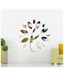 Small Picture Elite Collection 3D Acrylic Home Decor Wall Sticker Tree Mirror